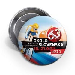 Odznak 63. ročníka Okolo Slovenska