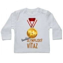 Tričko s dlhým rukávom - olympijský víťaz