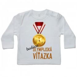 Tričko s dlhým rukávom - olympijská víťazka