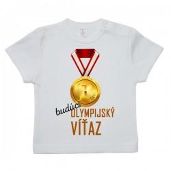 Tričko s krátkym rukávom - olympijský víťaz