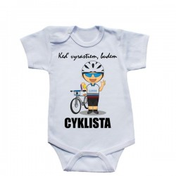 Body s krátkym rukávom - cyklista (Slovák)