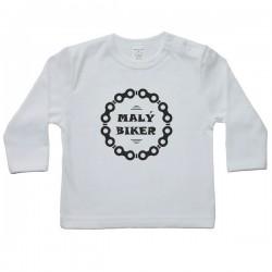Tričko s dlhým rukávom - malý biker